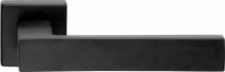 Ручка дверная на квадратной розетке Linea Cali CORNER 505 RO 024 VE матовый черный
