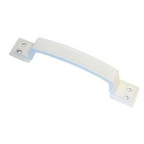Ручка дверная скоба Зенит РС100.01 (белый)