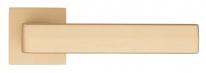 """Ручка дверная на квадратной розетке Fratelli Cattini """"BOOM"""" 8-KD золото крайола"""