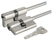 Цилиндровый механизм под вертушку Cisa (дл. шток) Asix OE307-07.12 (60 мм/25+10+25)