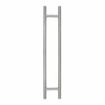 Комплект дверных ручек - скоб для стеклянных дверей Doorlock DL PHS 11 32-1000-800