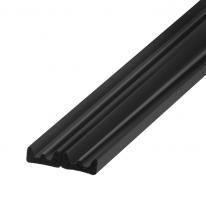Самоклеящийся Trelleborg (Треллеборг) уплотнитель, профиль К-LIST (Е) 9x4 мм, черный (бобина 100 м)