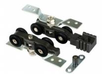 Комплект роликов Tixx для раздвижных дверей DR 13 60 кг