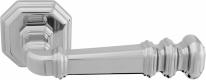 Ручка дверная на квадратной розетке Forme Rat Atlas 159 Полированный хром