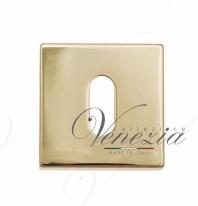 Накладка под ключ буратино на квадратном основании Fratelli Cattini KEY-8 KD золото крайола 2 шт.