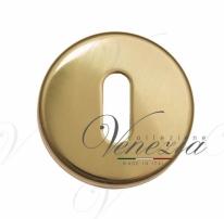 Накладка под ключ буратино на круглом основании Fratelli Cattini KEY-7 KD золото крайола 2 шт.