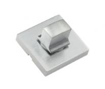 Фиксатор поворотный квадратный Extreza Hi-tech WC-11 матовый хром F05