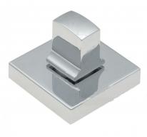 Фиксатор поворотный квадратный Extreza Hi-tech WC-11 полированный хром  F04