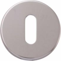 Накладка круглая под ключ буратино Extreza Hi-tech KEY-12 полированный хром F04