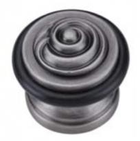 Ограничитель дверной напольный Archie G019 BL.SILVER Черненное Серебро