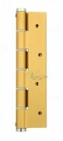 Петля пружинная односторонняя Justor 5814.02, Золото  матовое 40/60 кг