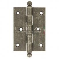Петля универсальная латунная Extreza 5110 102x76x3 мм античное серебро F45