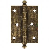 Петля универсальная латунная Extreza 5110 102x76x3 мм античная бронза F23