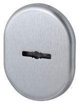 Декоративная накладка Armadillo (Армадилло) на сувальдный замок со шторкой PS-DEC CT (ATC Protector 1) SC-14 Матовый хром