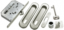Комплект для раздвижных дверей Morelli MHS150 L SC Матовый хром