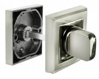Завертка сантехническая Morelli MH-WC-S SN/BN Белый никель/Черный никель