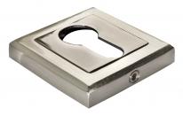 Накладка на цилиндр Morelli MH-KH-S SN/BN Белый никель/черный никель