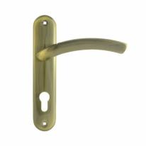 23-70 мм (ст.бронза) Ручка двер.на планке Нора-М