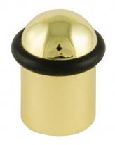 Ограничитель дверной напольный  Нора-М 117 40 мм (золото)