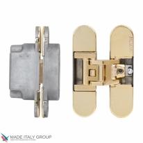 Петля дверная скрытая Koblenz Kubica 6700 DXSX, Gold  (70 кг)