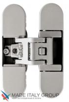 KUBICA 6700 DXSX, NS петля скрытая универсальная Матовый никель (70 kg)