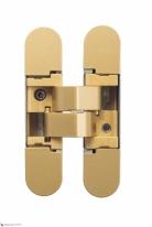 Петля дверная скрытая Koblenz Kubica K1000 DXSX, Kombi 3 OR Матовое золото (52 кг)