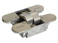 Скрытые петли Morelli с 3-D регулировкой HH-4 SN Цвет - Матовый никель 40/60 кг