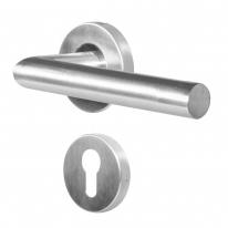 Ручка дверная противопожарная Doorlock DL 040/F PZ L-form Rt