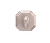 Завертка дверная Forme Wc квадратная RAT Матовый хром