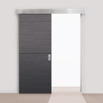 Комплект Armadillo для раздвижных дверей Comfort - PRO SET 3 /soft close+roller/ 80 (CFA170B) 1 доводчик