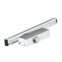 Доводчик дверной DOORLOCK DL100S size 3 со скользящей тягой белый с функцией Hold Open