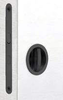 Комплект для раздвижных дверей Bonaiti WC ((Механизм G500T H21 + ручки EASY TONDO) Матовый черный