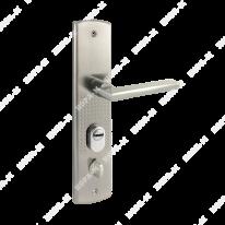 Ручка дверная на планке Нора-М для китайских дверей 200(108) (левая)