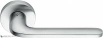 Дверная ручка на круглой розетке COLOMBO Roboquattro ID41R-CM матовый хром