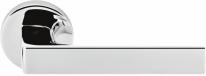 Дверная ручка на круглой розетке COLOMBO Robocinque ID61RSB-CR полированный хром