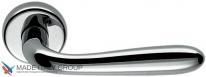 Дверная ручка на круглой розетке COLOMBO Robot CD41RGSB-CR полированный хром