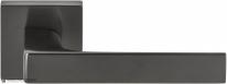Дверная ручка на квадратной розетке COLOMBO Robocinque S ID71RSB-GM матовый графит