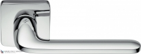Дверная ручка на квадратной розетке COLOMBO Roboquattro S ID51RSB-CR полированный хром
