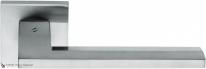 Дверная ручка на квадратной розетке COLOMBO Electra MS11RSB-CM матовый хром