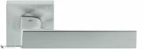 Дверная ручка на квадратной розетке COLOMBO Robocinque S ID71RSB-CM матовый хром