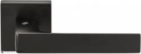 Дверная ручка на квадратной розетке COLOMBO Robocinque S ID71RSB-NM черный