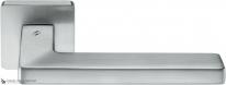 Дверная ручка на квадратной розетке COLOMBO Esprit BT11RSB-CM матовый хром