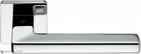 Дверная ручка на квадратной розетке COLOMBO Esprit BT11RSB-CR полированный хром