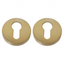Накладка под цилиндр на круглом основании COLOMBO CD43G-OM матовое золото