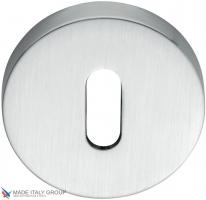 Накладка под ключ буратино на круглом основании COLOMBO CD1043G-CM матовый хром