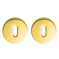 Накладка под ключ буратино на круглом основании COLOMBO CD1043G-OM матовое золото