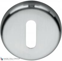 Накладка под ключ буратино на круглом основании COLOMBO CD1063G-CM матовый хром