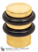 Упор дверной напольный COLOMBO CD412-OL полированная латунь