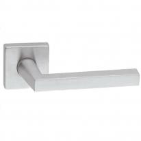 Дверная ручка на квадратной розетке FIMET 169/211B GIORGIA хром матовый F05