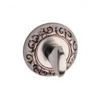 Фиксатор поворотный FIMET 250F WC французское серебро античное F59